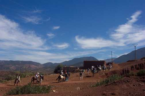 The Atlas Foothills