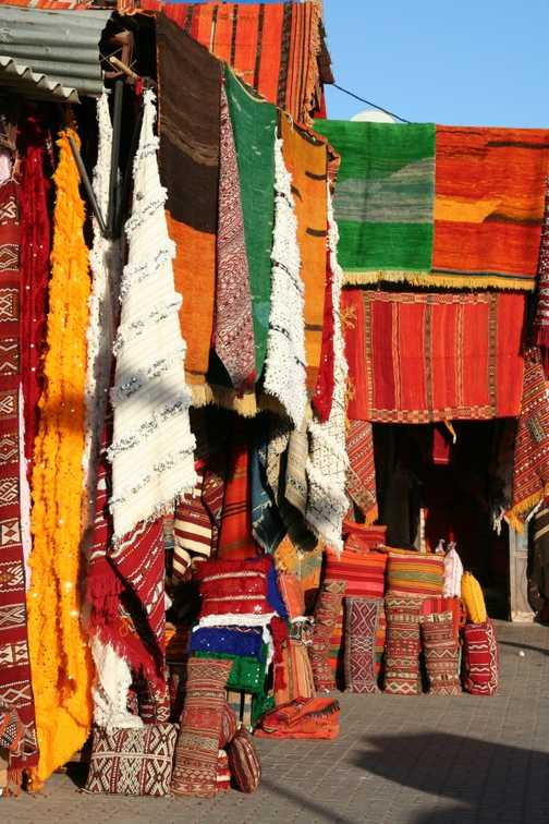 Outside Medersa Ben Youssef, Marrakech