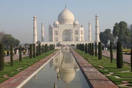 The beautiful Taj Mahal