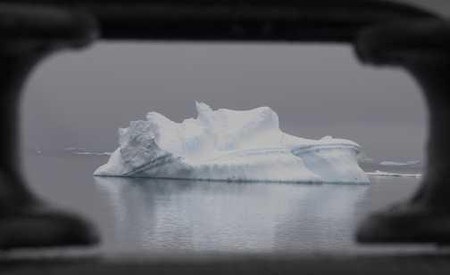 Through the Porthole - Antarctic Sound