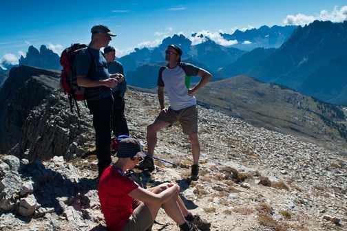 Day 2 : Ascent of Durrenstein (2950m).