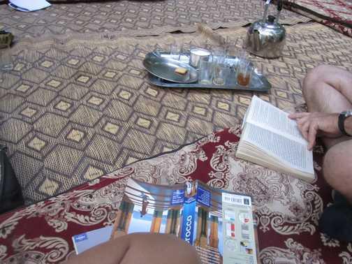 reading time before dinner