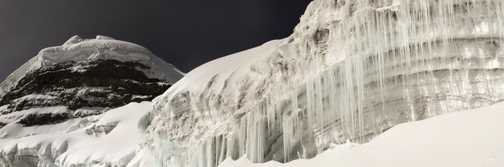 Cotopaxi Icicles
