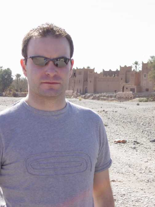 Me in Morocco