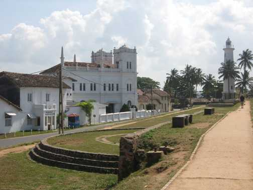 Mosque with light house @ World Heritage City of Galle