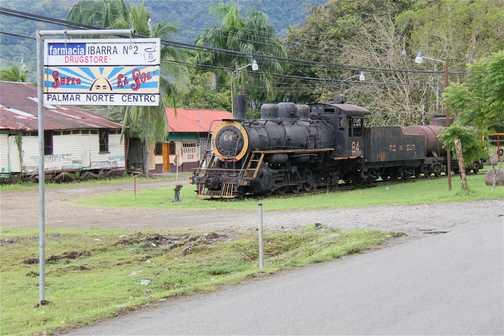 "Baldwin #72669, 1946 build, oil fired, 3'6"" gauge, Palmar Sur"