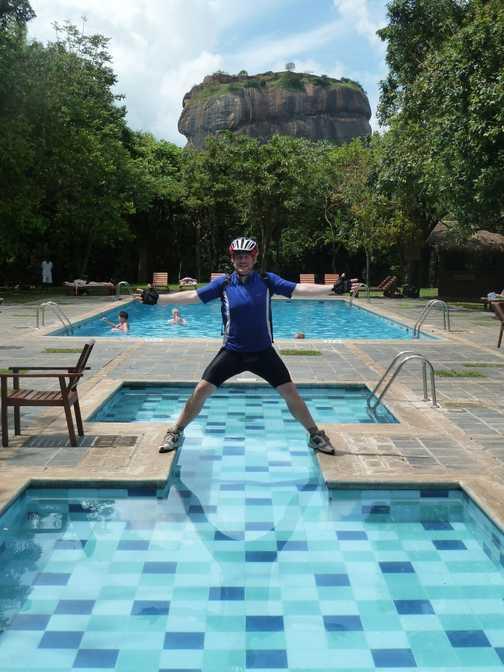 Hotel Pool - Sigiriya