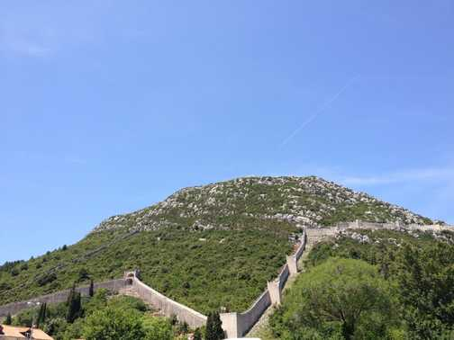 The Great Wall of Croatia