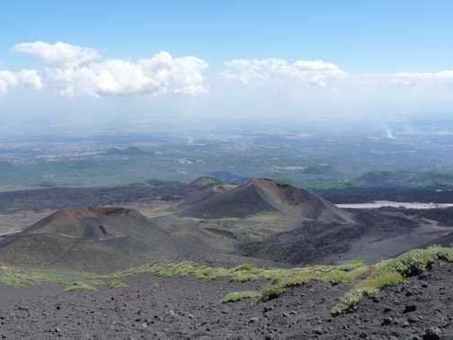 More of Etna's craters