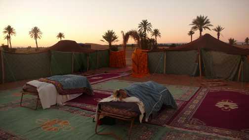 Berber camping!