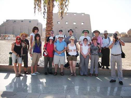 The group at Karnak