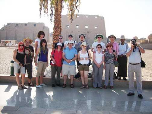 The group at Karnak