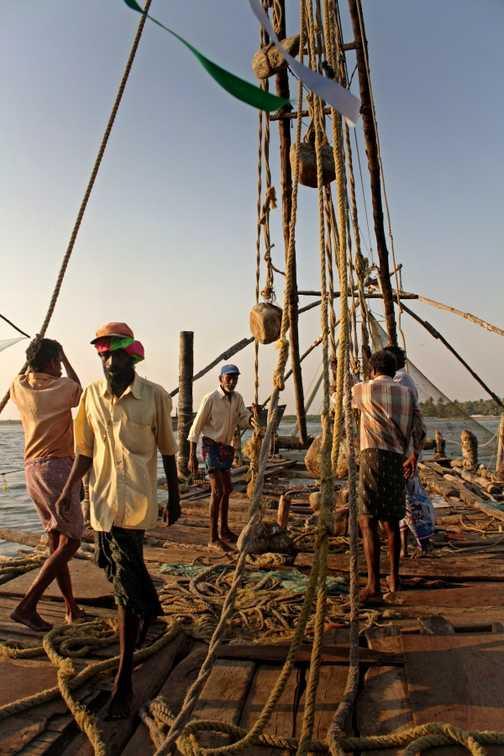 The fishing nets, Cochin
