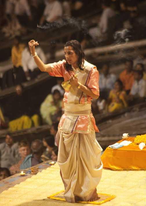 Day 3. Varanasi, Puja at the Ghats