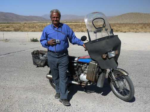 Hassan Marshad - philosopher, biker and stand-up comedian . . . Pasargad.