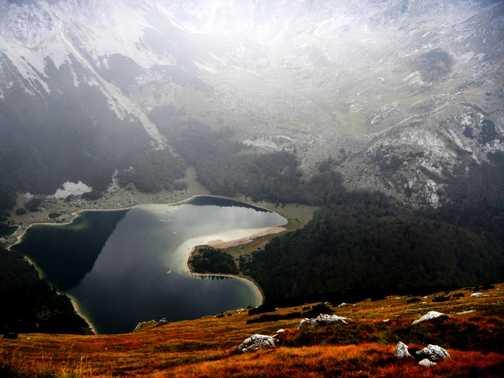 Trnovacko Lake in Montenegro.