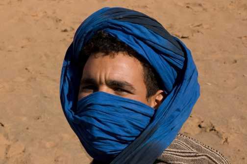 Saharan dunes