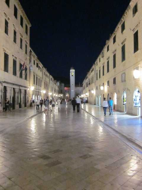 Dubrovnik at night 3