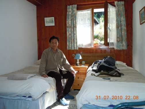 My Room at Chalet Savoy, Les Chavant, Les Houches, France