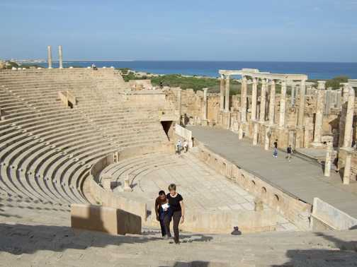 Entrance to Ampitheatre at Leptis Magna