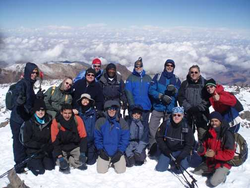 on top toubkal