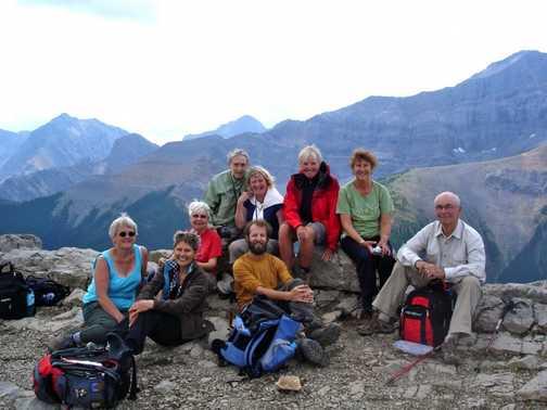 atop Sulphur Ridge