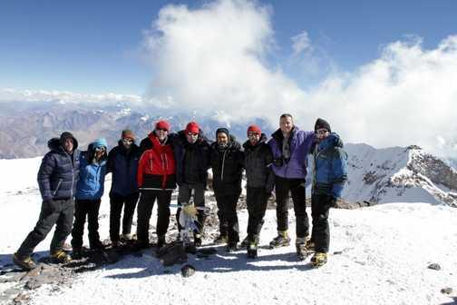 Team on Summit