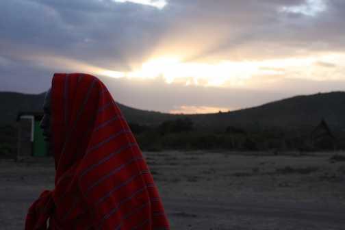 Masia sunrise