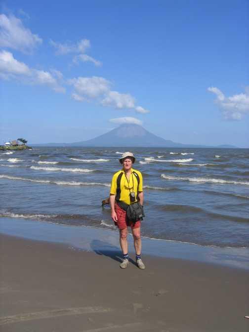 Before crossing to Ometepe island across Lago Nicaragua