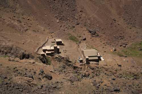 Neltner Hut returning from Mt. Toubkal