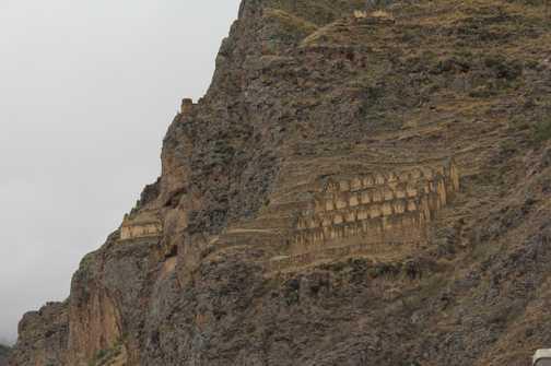 Ruins in the hillside