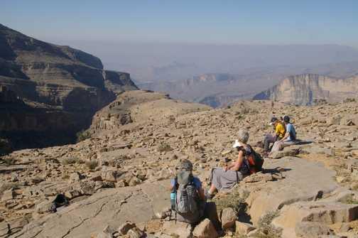 Day 6 trek - rest spot