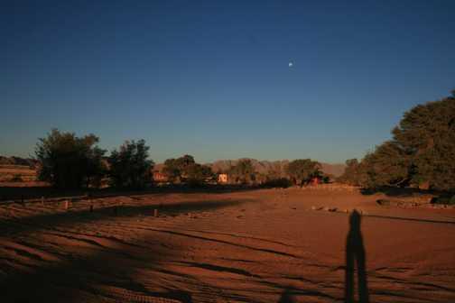 sunset at Chobe
