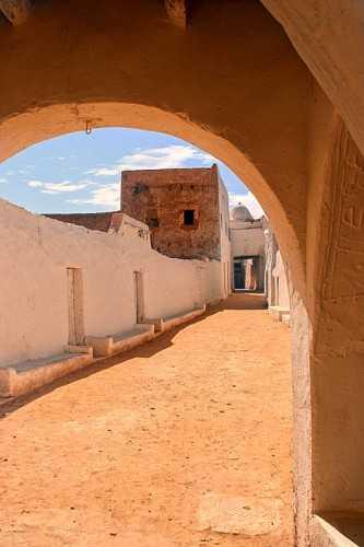 In the Old Town of Ghadamès