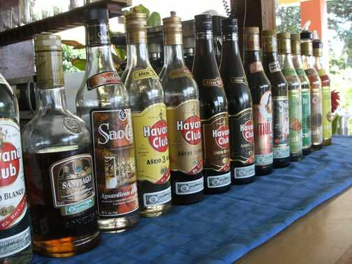 Anyone for a drink in Cuba