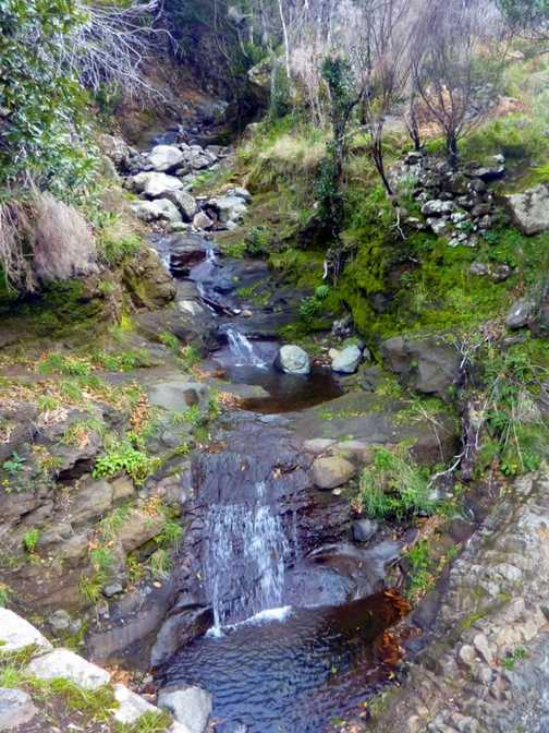 Mountain Stream Walk to Corticeiras