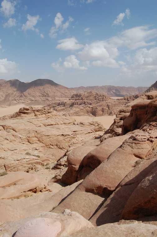 View from Jebel Burdah