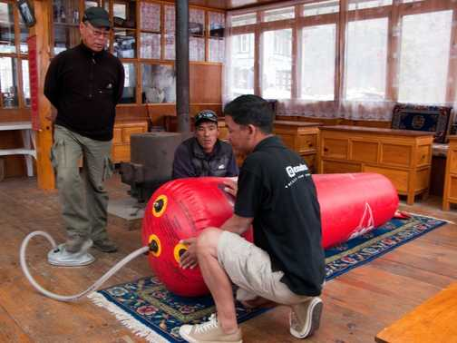 Portable Altitude Chamber demonstration