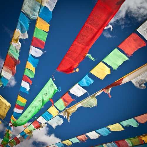 Heading towards Mount Qomolangma (Everest)