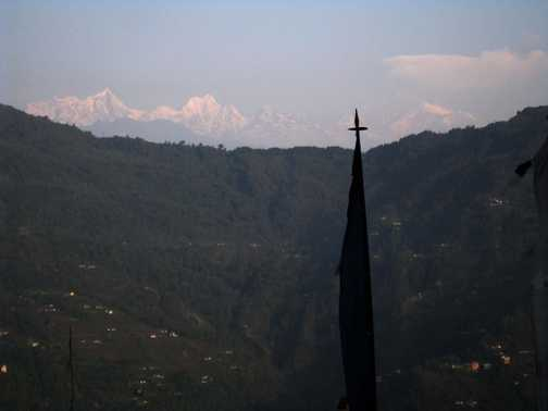 View from Gangtok
