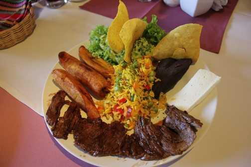 Lunch in Santiago Atitlan