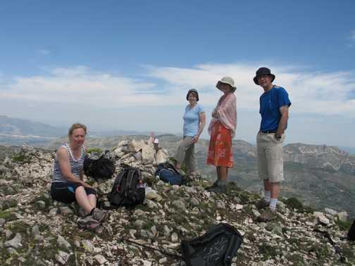 Summit of Aitana