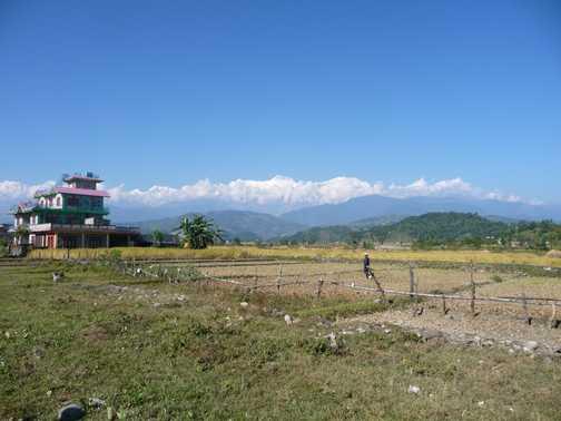 Sunrise at Pokhara