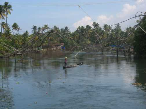 Coconuts and fishing nets