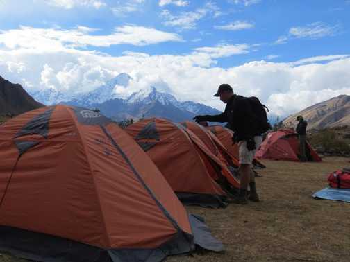 Day 3 campsite