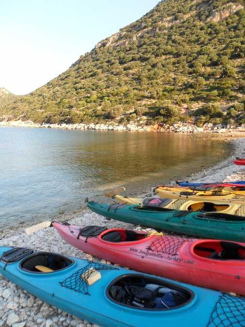 lovely morning for kayaking