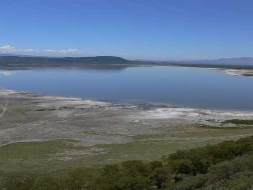 Views of Lake Nakuru