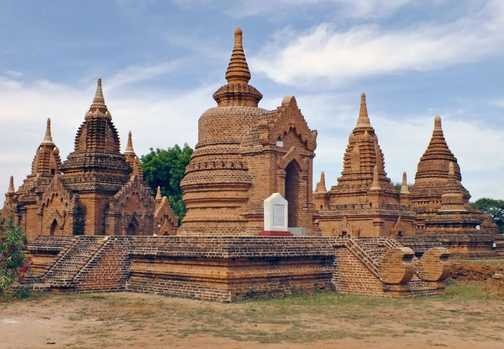 Numerous Pagodas at Bagan