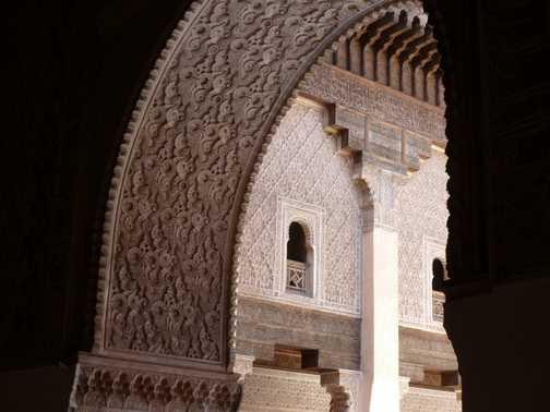 Koranic school in Marrakech.