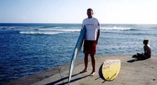 surfing in oahu